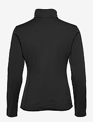 Salomon - OUTRACK FULL ZIP MIDLAYER Black - fleece - black - 1