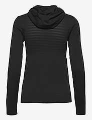 Salomon - ESSENTIAL SEAMLESS  HOODI Black/Ebony - hoodies - black/ebony - 1