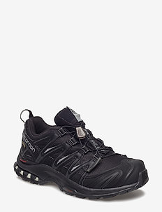 SHOES XA PRO 3D GTX W - vandrings- & promenadskor - black/black/mineral grey