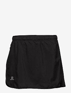 AGILE SKORT W - sports skirts - black
