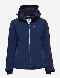 BRILLIANT JKT W - insulated jackets - medieval blue