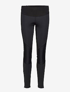 TRAIL RUNNER WS TIGHT W - löpnings- och träningstights - black/black