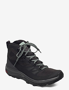 OUTline Mid GTX® W - hiking/walking shoes - black