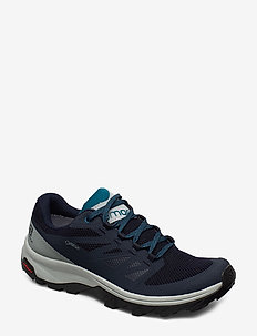 SHOES OUTline GTX - wanderschuhe - navy blazer/quarry/lyons blue