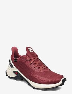 ALPHACROSS BLAST GTX W - hiking/walking shoes - red