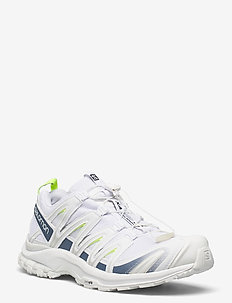 XA PRO 3D White/Copen Blue/Safety Yellow - laag sneakers - white/copen blue/safety yellow