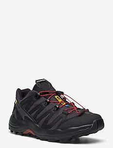XA PRO 1 Black/Magnet/Racing Red - wandelschoenen - black/magnet/racing red