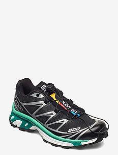 XT-6 Black/White/Mint Leaf - sneakers - black/white/mint leaf