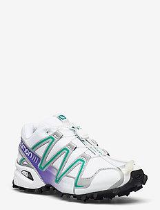 SPEEDCROSS 3 Wht/Silver Metallic X/Paras - laag sneakers - white/silver metallic x/paras