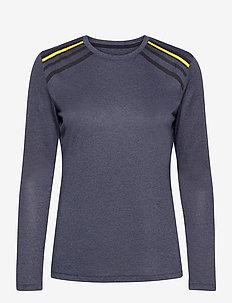 COMET CLASSIC LS TEE W - langarmshirts - blue