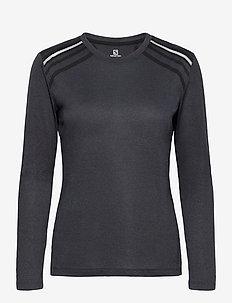 COMET CLASSIC LS TEE W - topjes met lange mouwen - black
