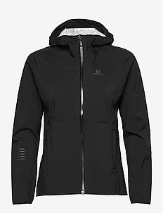 LIGHTNING WP JKT W Black - training jackets - black
