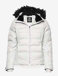 STORMCOZY JKT W - insulated jackets - white