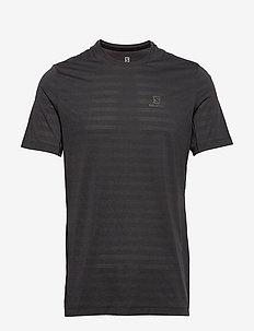 XA TEE M - t-shirts - black/heather