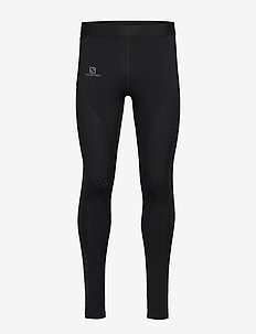 EXO MOTION LONG TIGHT M - löpnings- & träningstights - black