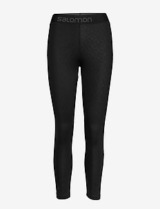 ELEVATE AERO 7/8 TIGHT W - löpnings- och träningstights - black/ao