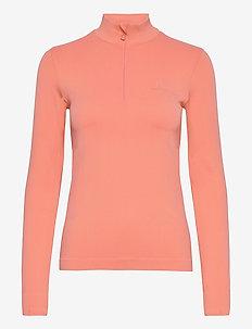 COMET SEAMLESS HALF ZIP W - sweats et sweats à capuche - pink