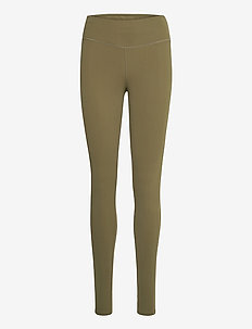COMET WARM TIGHT W - sportleggings - green