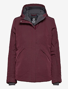 SNOW REBEL JACKET W - laskettelutakki - purple
