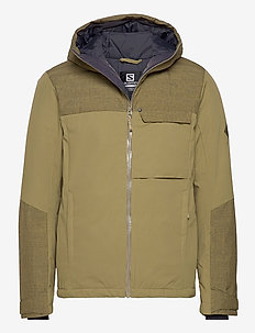 DEEPSTEEP JACKET M - vestes de ski - green