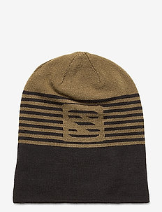 FLATSPIN REVERSIBLE BEANIE - hats - green