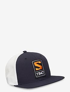 TRUCKER FLAT CAP NIGHT SKY/NIGHT SKY - flat caps - night sky/night sky