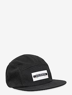 FIVE P CAP Black/Black - flat caps - black/black