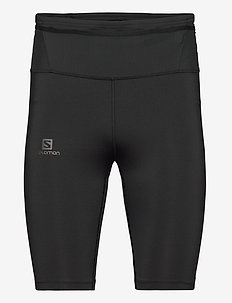 XA HALF TIGHT M Black - juoksu- & treenitrikoot - black