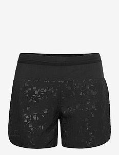 XA SHORT W Black - training korte broek - black
