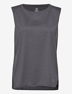 OUTLINE SUMMER TANK W Ebony - topjes - ebony