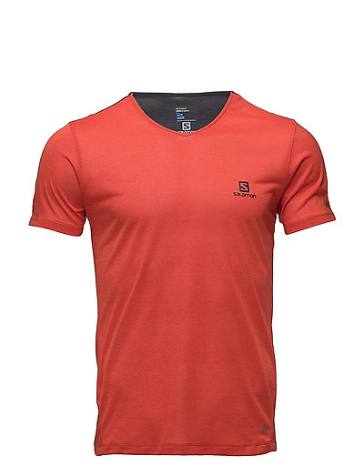 top brands ever popular sale uk Salomon Cosmic Block Ss Tee M (Fiery Red/graphite), (24.75 €) | Large  selection of outlet-styles | Booztlet.com