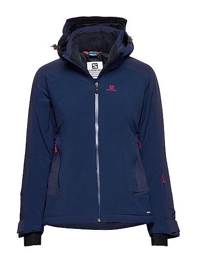 Brilliant Jkt W Outerwear Sport Jackets Blau SALOMON