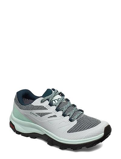 Shoes Outline Gtx W Shoes Sport Shoes Outdoor/hiking Shoes Grau SALOMON