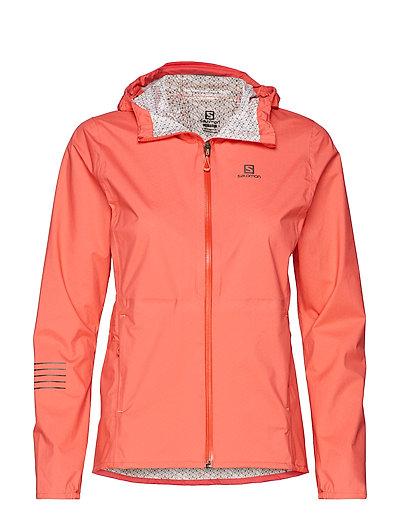 Lightning Wp Jkt W Dubarry Outerwear Sport Jackets Pink SALOMON