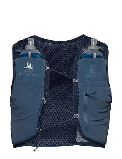 Active Skin 8 Set Rucksack Tasche Blau SALOMON