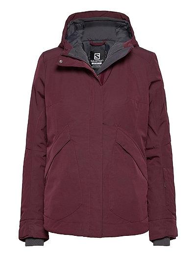Snow Rebel Jacket W Outerwear Sport Jackets Lila SALOMON | SALOMON SALE