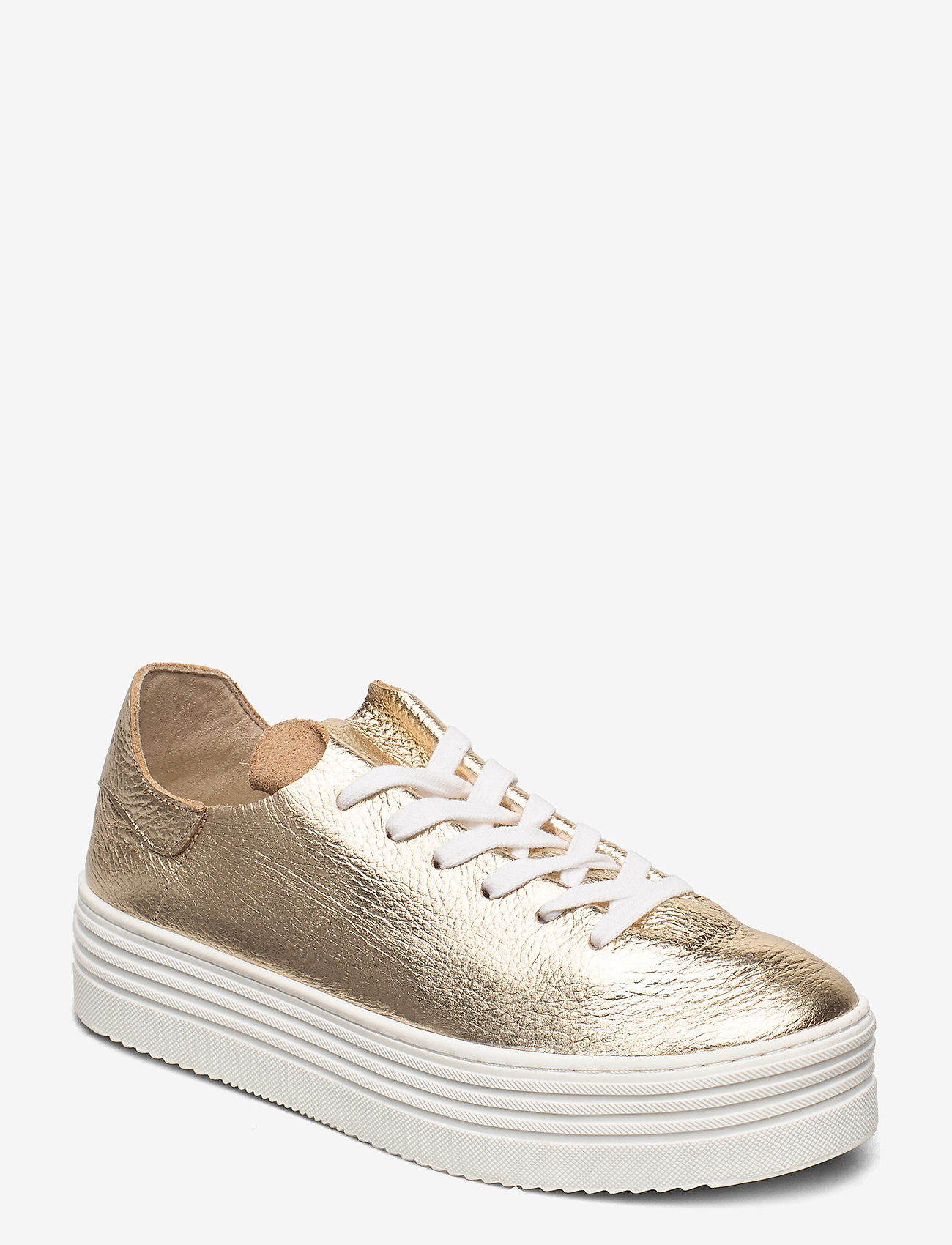 Sam Edelman - PIPPY TUMBLED MET LEATHER - lage sneakers - molten gold - 0
