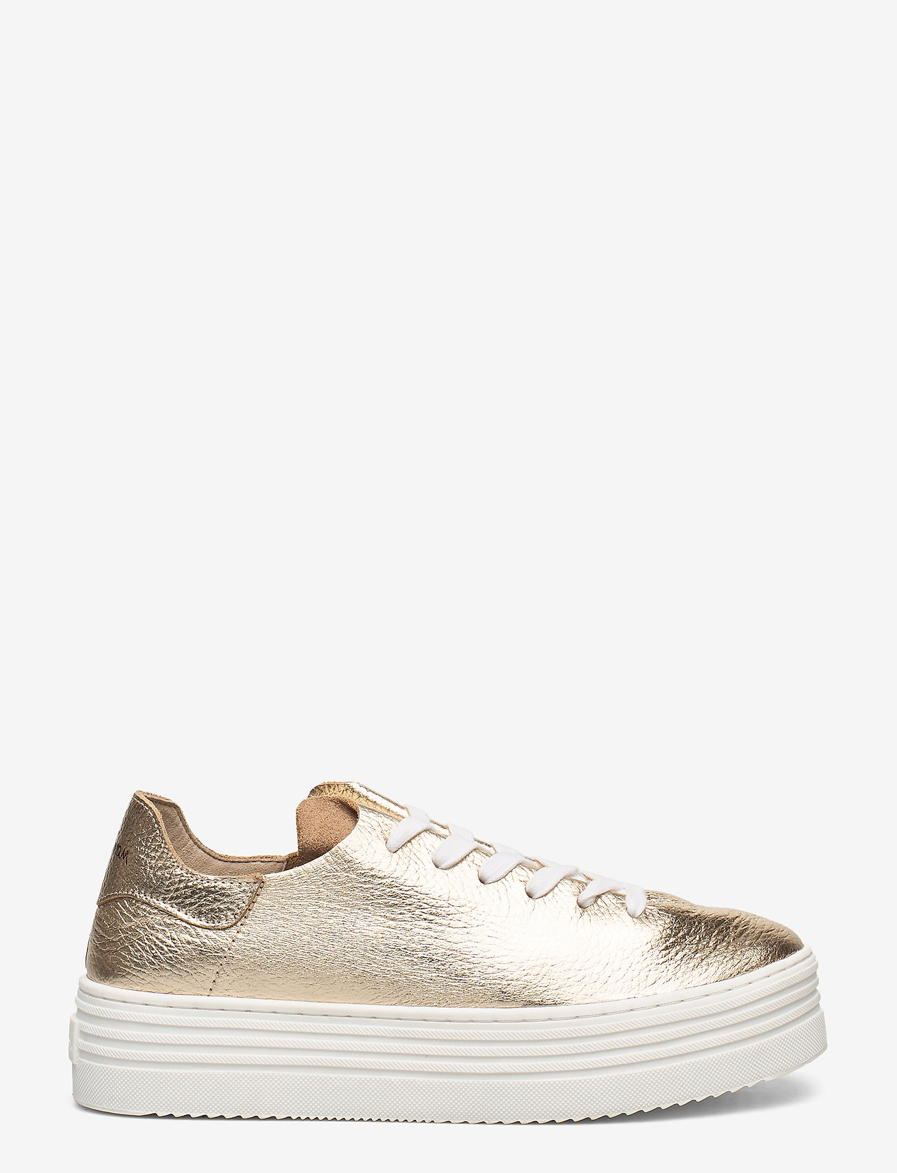 Sam Edelman - PIPPY TUMBLED MET LEATHER - lage sneakers - molten gold - 1