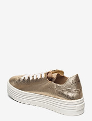 Sam Edelman - PIPPY TUMBLED MET LEATHER - lage sneakers - molten gold - 2