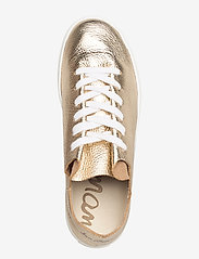 Sam Edelman - PIPPY TUMBLED MET LEATHER - lage sneakers - molten gold - 3