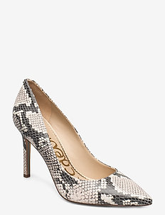 HAZEL EXOTIC SNAKE PRINT LEATHER - klassieke pumps - ivory multi