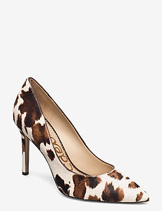 HAZEL MODERN COW BRAHMA HAIR - klassieke pumps - white/brown