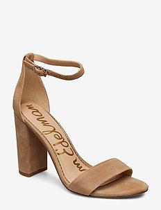YARO - sandalen met hak - oatmeal