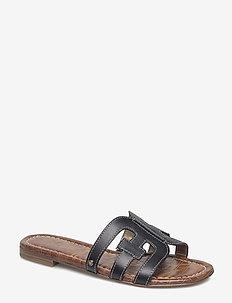 BAY - flate sandaler - black