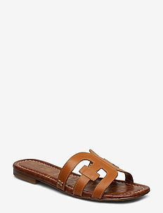 BAY - flat sandals - saddle