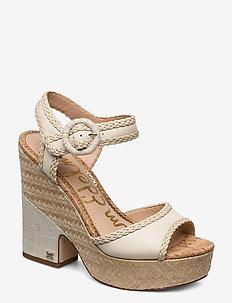 LILLIE - sandały na obcasie - modern ivory