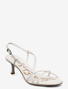 JUDY - sandały na obcasie - bright white