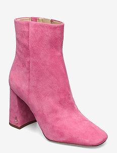 CODIE KID SUEDE LEATHER - ankelstøvler med hæl - pink confetti