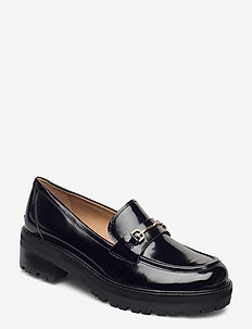 TULLY - loaferit - black