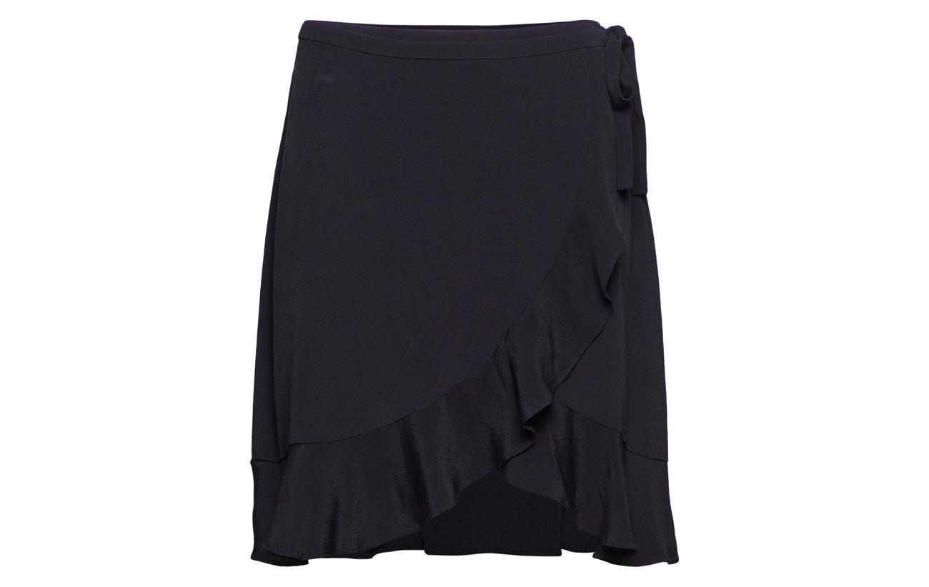 Samsøe Viscose Wrap amp; Dark Skirt 6515 100 Limon Sapphire S zwzxgqdtr